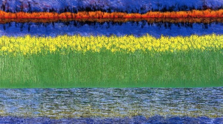 Sea of Grass, 1982 - Jimmy Ernst