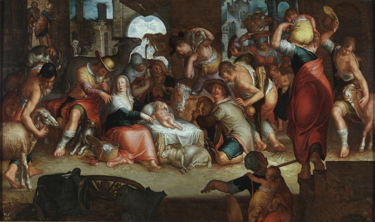 Adoration by the Shepherds, 1625 - Joachim Wtewael