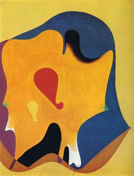 Cap d'home, 1932 - Joan Miro