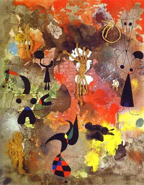 Painting, 1950 - Joan Miro