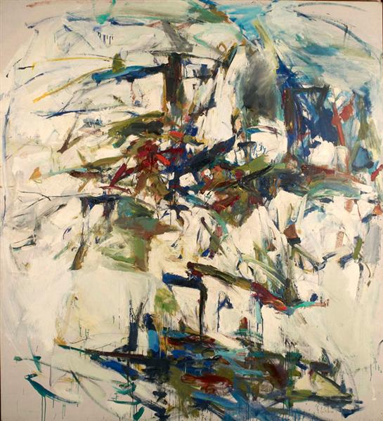 George Went Swimming at Barnes Hole, but It Got Too Cold, 1957 - Joan Mitchell