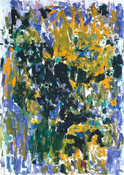 Tournesols, 1976 - Joan Mitchell