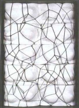 Viúva de Man Ray, Negra, 1981 - Joao Vieira