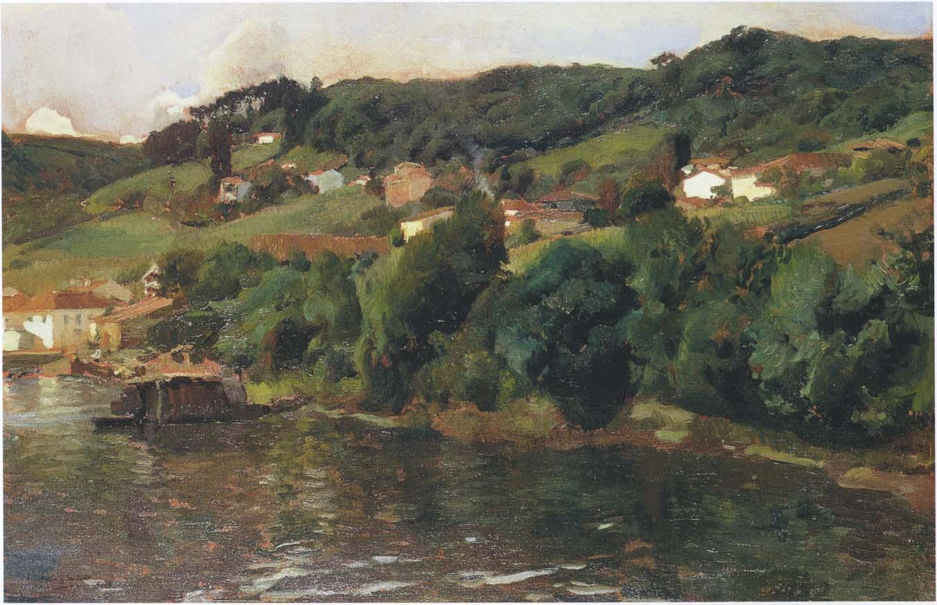 Pinturamadrid joaquin sorolla mar y rocas de san - Pintores en asturias ...