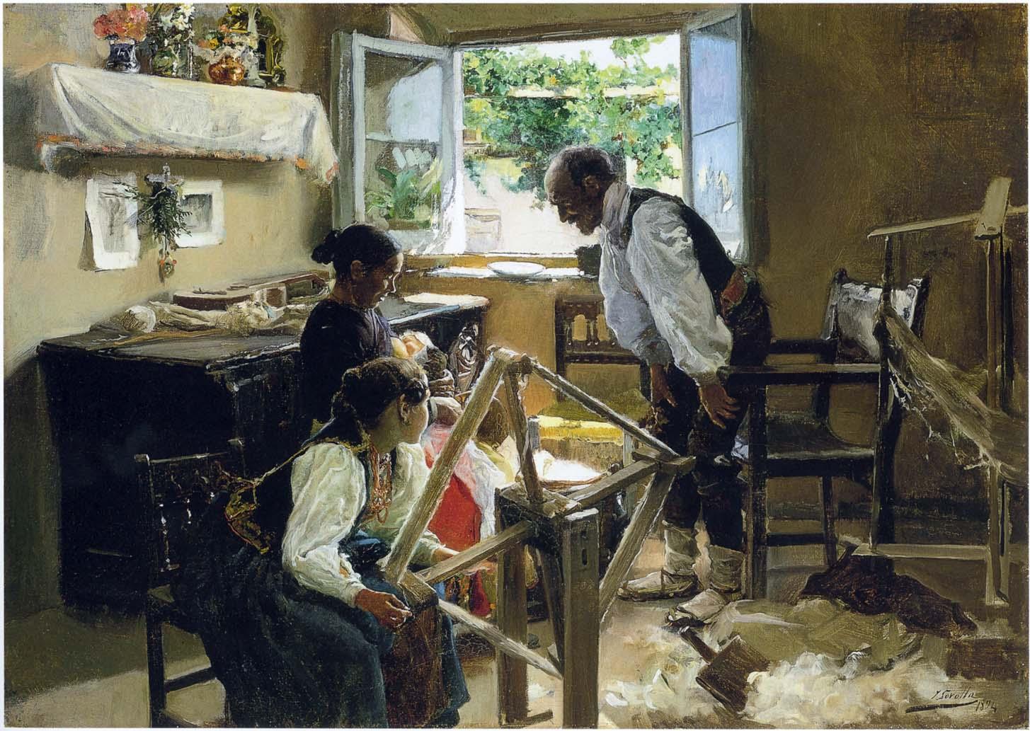 >>>El dia a dia de ayer y de hoy en la pintura>>> - Página 2 The-suckling-child-1894