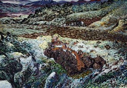 Svínahraun Lava Field - Johannes Sveinsson Kjarval