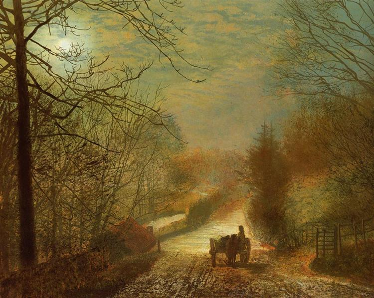 Forge Valley, Scarborough - John Atkinson Grimshaw