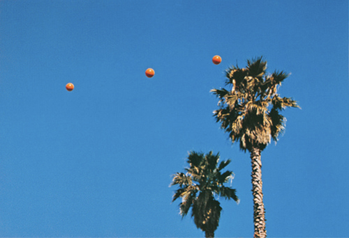 Throwing Three Balls in the Air to Get a Straight Line, 1973 - John Baldessari
