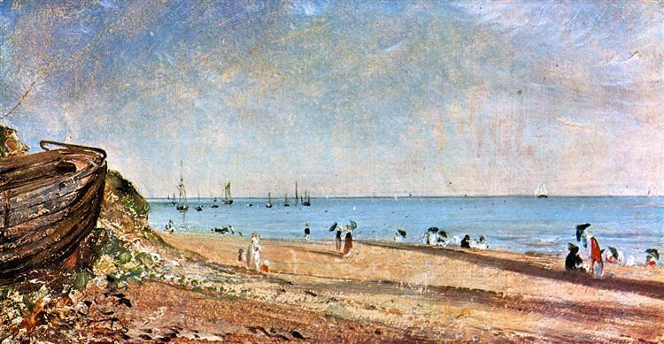 Brighton Beach - John Constable