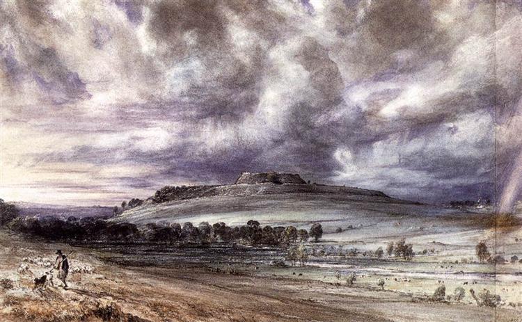 Old Sarum, 1834 - John Constable