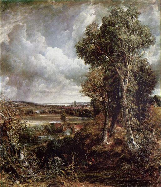 The Vale of Dedham, 1828 - John Constable