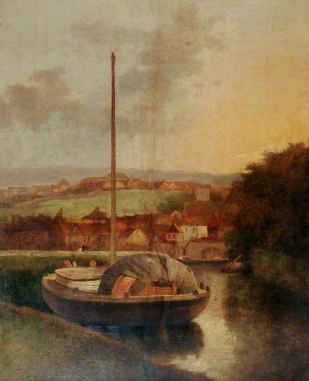 A View on the Wensum, Norfolk - John Crome