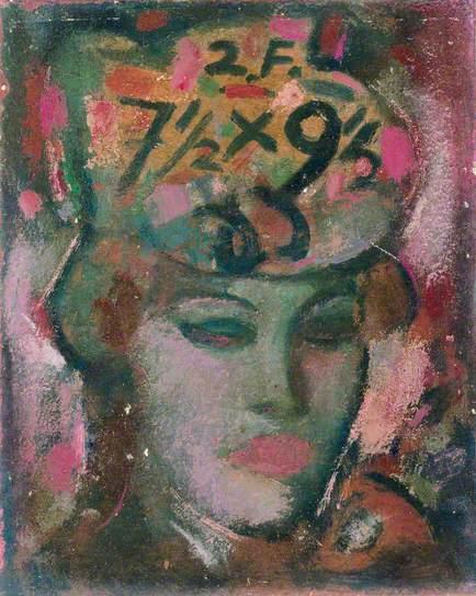 Woman in Hat, 1950 - John Duncan Fergusson