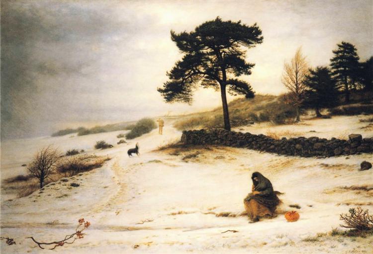 Blow, Blow Thou Winter Wind, 1892 - John Everett Millais