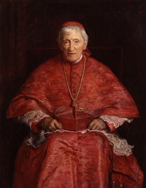 John Henry Newman - John Everett Millais