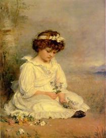 Little Speedwell's Darling Blue - John Everett Millais