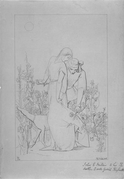 My Beautiful Lady, 1848 - John Everett Millais