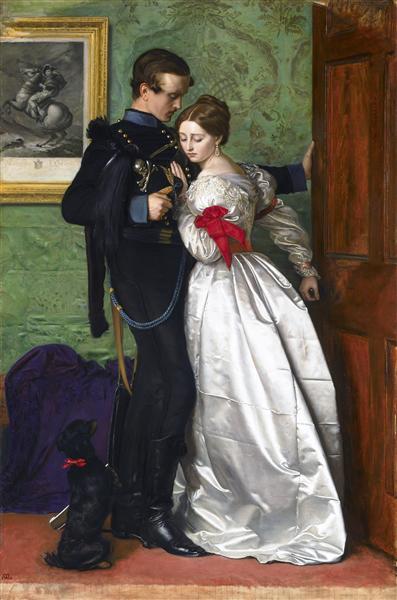 The Black Brunswicker, 1860 - John Everett Millais