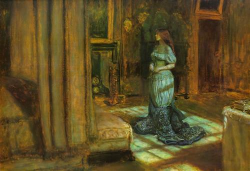 The Eve of Saint Agnes - John Everett Millais