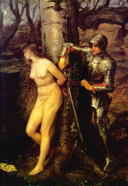 The Knight Errant, 1870 - John Everett Millais