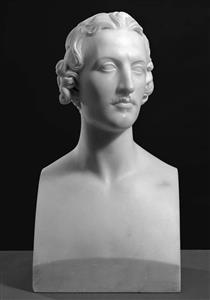 Bust of William Bewick - Джон Гібсон