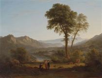 At Matlock - mist rising - Джон Гловер