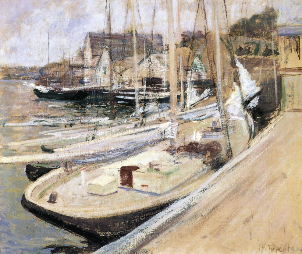 Fishing Boats at Gloucester