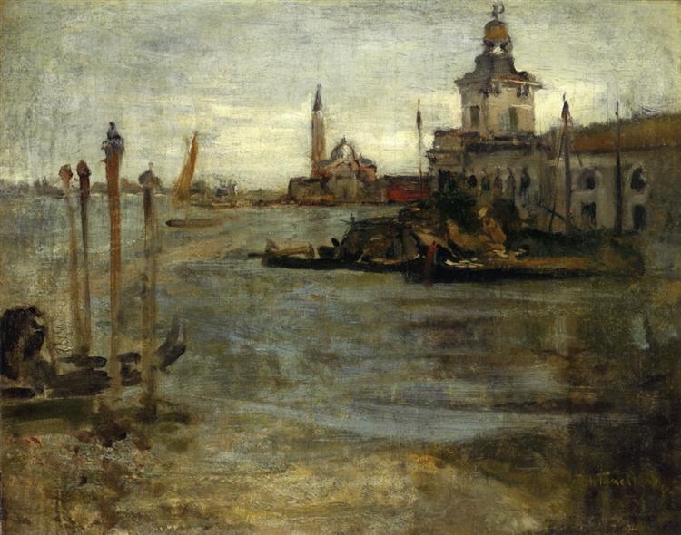 Venice, c.1878 - John Henry Twachtman