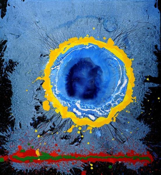 Moon's Milk - John Hoyland