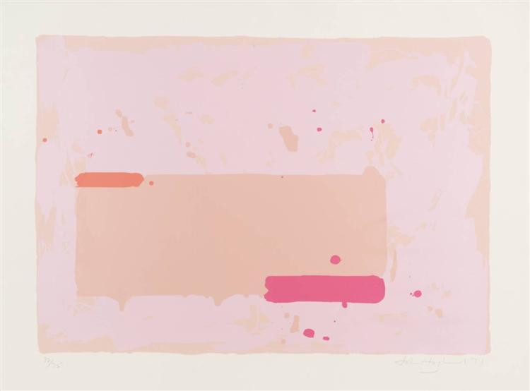 Orange, Pink, 1971 - John Hoyland