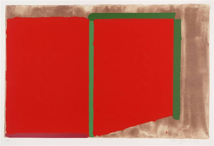 Reds, Greens, 1969 - John Hoyland