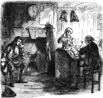 Snitchey and Craggs - John Leech