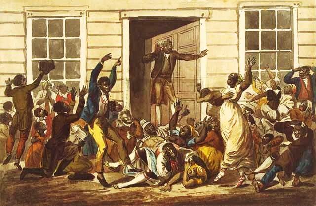 Black People's Prayer Meeting - John Lewis Krimmel