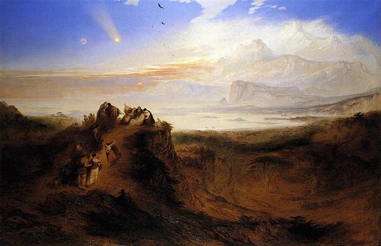 The Eve of the Deluge, 1840 - John Martin