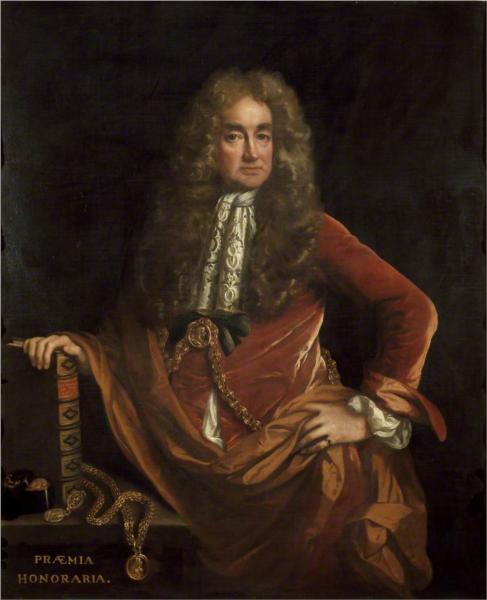Elias Ashmole, 1682 - John Riley