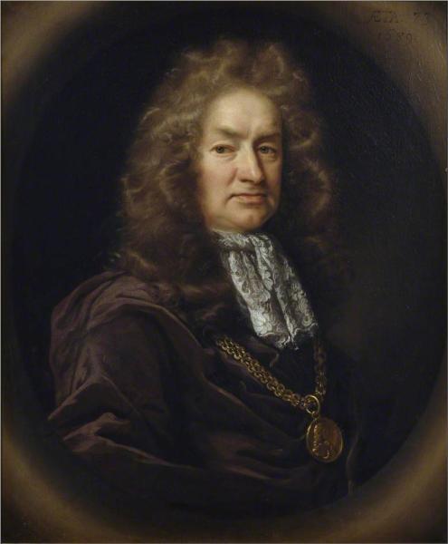 Elias Ashmole, 1687 - John Riley