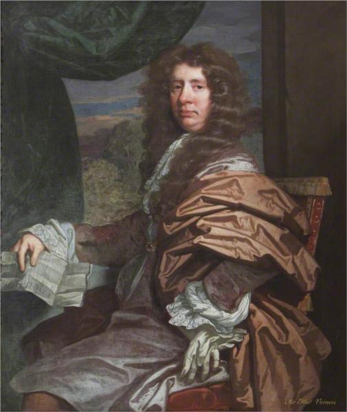 Sir Thomas Vernon of Twickenham Park - John Riley