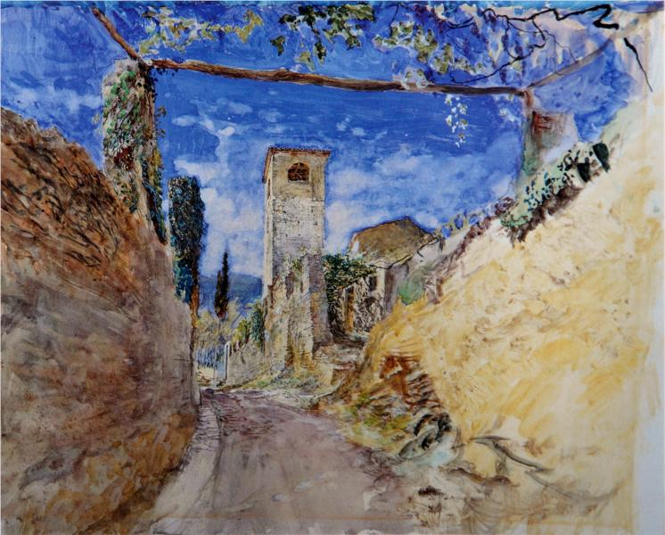 A Vineyard Walk Lucca - John Ruskin