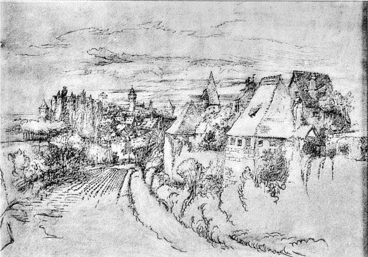 Lauffenbourg, 1863 - John Ruskin