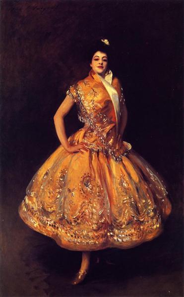 La Carmencita, 1890 - John Singer Sargent