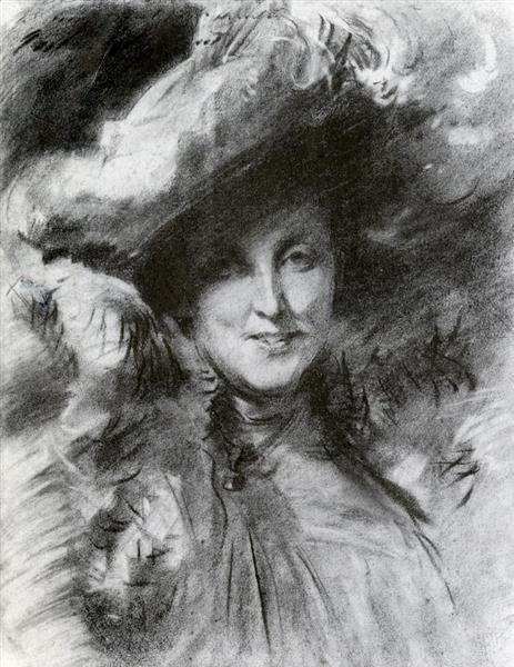 Mrs. Charles Hunter, c.1902 - John Singer Sargent