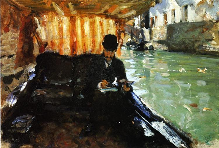 Ramon Subercaseaux, c.1880 - John Singer Sargent