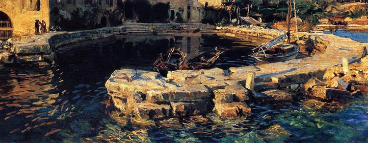San Vigilio, Lake Garda, 1913 - John Singer Sargent
