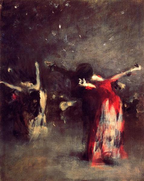 Study for The Spanish Dance, c.1879 - John Singer Sargent