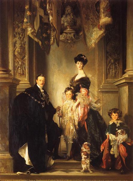 The Marlborough Family, 1904 - 1905 - John Singer Sargent