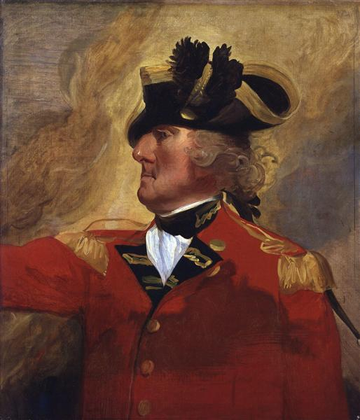 George Augustus Eliott, 1st Baron Heathfield - John Singleton Copley