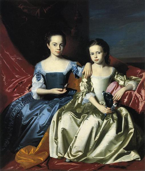 Mary and Elizabeth Royall, c.1758 - John Singleton Copley