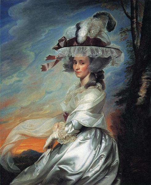 Mrs.Daniel Denison Rogers, c.1784 - John Singleton Copley