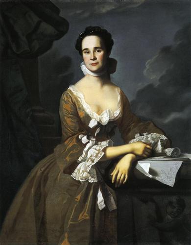 Mrs.Daniel Hubbard (Mary Greene) - John Singleton Copley