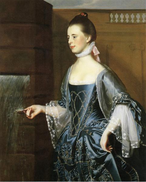 Mrs. Daniel Sargent (Mary Turner Sargent), 1763 - John Singleton Copley